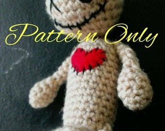 PATTERN ONLY!** Crochet Voodoo Doll Pin Cushion