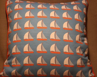 "17"" cushion cover Sailing Boats Yachts Nautical"