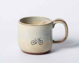 Rustic Mountain Bike Mug