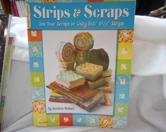 Strips & Scraps  quilt book - CLEARANCE