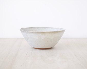 medium matte white bowl : SECONDS SALE