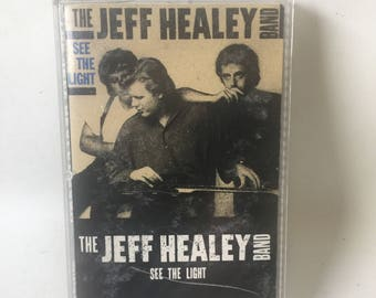Jeff Healey See the Light Cassette Tape