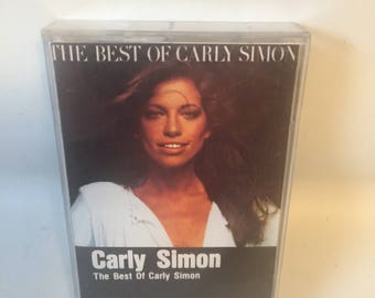 Best of Carly Simon Cassette Tape