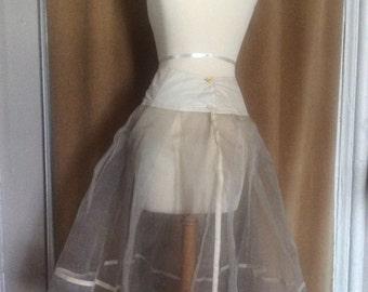 Vintage Fifties Crinoline Petticoat Slip