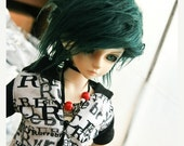 15% OFF Akasarushi Forest GREEN Color Fur Wig Made for abjd doll size SD Msd tiny yosd and puki