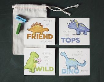 Dinosaurs! Valentine's Day School Pack, Set of 12