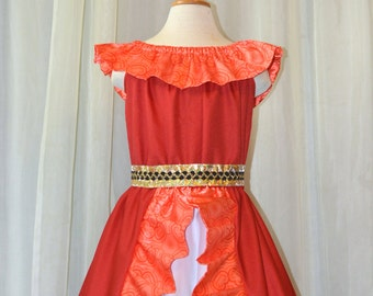 Princess of Avalor Red - Adult Ladies size small - x large