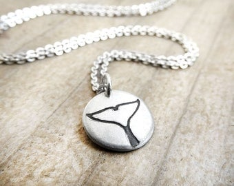 Killer whale tail necklace, Orca tail, coworker gift, gift for her, daughter gift, whale necklace
