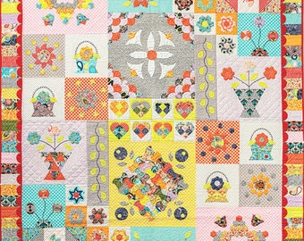 Sue Daley Birds of Paradise Quilt Pattern Kit
