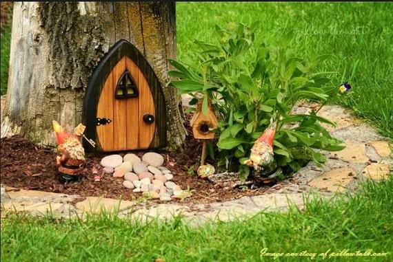 Gnome doors fairy doors faerie doors elf doors 9 inch for Fairy doors for sale