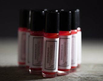 Dragons Blood | Roll On Perfume | Fragranced Oil Perfume | Perfume Oil | Apothecary Scents | Fatty's Soap Co. | Gifts for Her