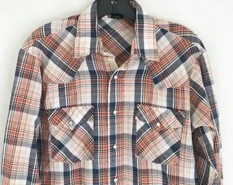 Vintage 80's Western Shirt