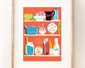 Let's Cook art print