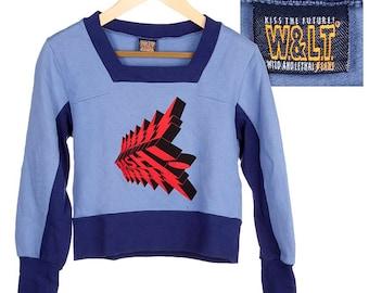 1990s Walter van Beirendonck - sweater sweater shirt by W&L.T  - blue