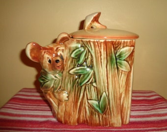 Cute Vintage McCoy Koala Bear Cookie Jar FREE SHIPPING in the Continental USA