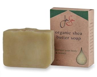 Forest Men's Organic Soap Bar - Handmade with Shea Butter - Cold Process - Vegan Friendly