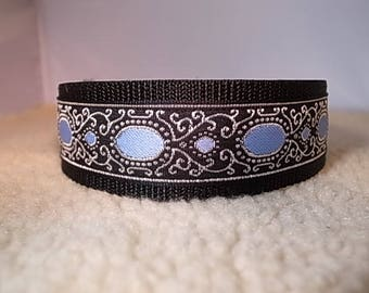"1.5"" Wide Jewel Style House/Martingale Collar - IG/Whippet/Greyhound/Sighthound/All Breeds"