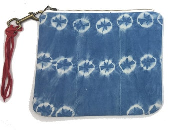 Large Pouch African Indigo | CUPPY