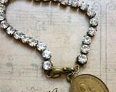 Bracelet Vierge Marie médaille ancienne