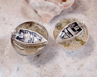 Fisherman Cufflinks - Take me to the Ocean Collection - Handmade Schickie Mickie Original