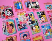 36 Sailor Moon cards (1995 Bandai) - SALE