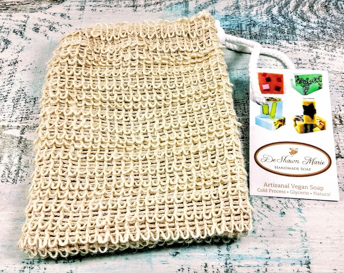 Sisal Soap Saver Sack