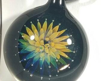Borosilicate fumed sea anemone