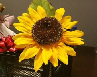 8 Silk Sunflower Pens -   Sunflowers