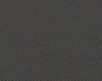 10 oz Preshrunk Cotton Canvas Duck Fabric CHARCOAL GRAY Apparel Upholstery Slipcovers Crafts