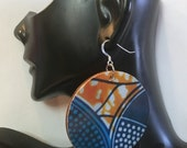 Afrocentric Wood  Earrings,  ,nubiansensations