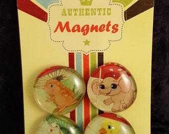 Magnets, Refrigerator Magnets, Glass Magnets