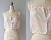 Loanna voile camisole | antique 1920s camisole | vintage 20s lingerie