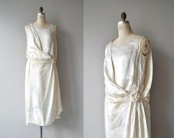Diotima wedding dress | vintage 1920s wedding dress | silk 20s wedding