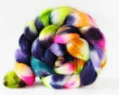 Time Traveller 4 oz Merino softest 19.5 micron Roving Top for spinning