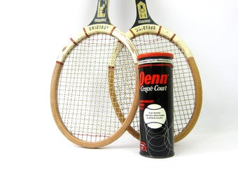 Spalding Tennis Rackets & Balls Advertising Collection Metal Tin Sports Sporting Den Decor Salvaged Athletic photo prop