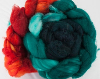 Mallard - Superwash Merino Wool Roving 4oz