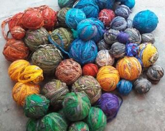 Sari Yarn- tourquoise or aqua