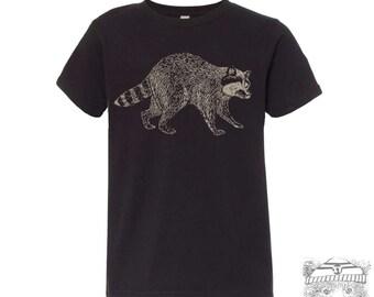 KIDS RACCOON Premium vintage soft Tee T-Shirt Fine Jersey T-Shirt (+Colors) - FREE Shipping