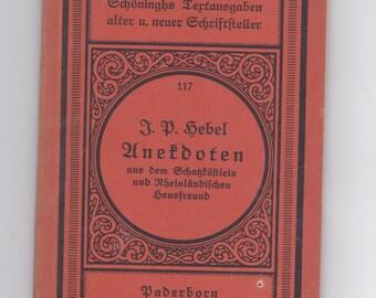 vintage German language book