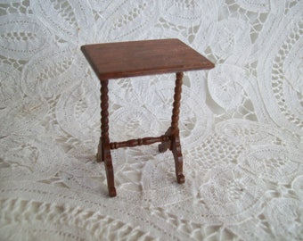 Hand Crafted, Miniature, One inch Scale Table