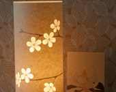 SECOND SALE! Cherry blossom lamp half price!