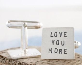 Anniversary Cufflinks | Personalised cufflinks | Custom cufflinks | Secret message cufflinks | Groom cufflinks | Wedding cufflinks uk