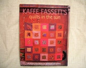 COUPON Code Sale - Destash Book, Kaffe Fassett's Quilts in the Sun, Quilting Book