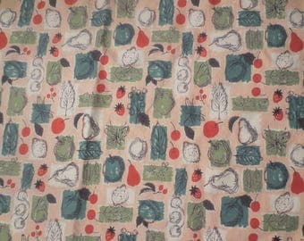 Vintage Waverly Westinghouse Design Glosheen Fabric / 5 yards / Bon Bon by Melanie Kahane / Mid Century Fabric