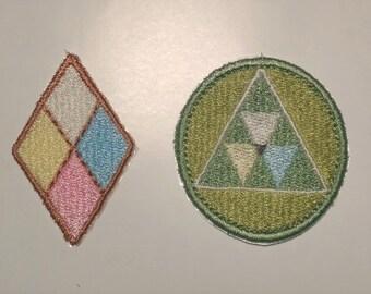 Diamond Authority Patches