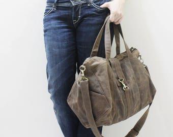 Tote Bag, zipper bag, Shoulder Bag, Diapers bag, Crossbody bag, Hobo Bag, Sport Bag, weekender Bag, Gift For Women - DIAMOND - SALE 30% OFF