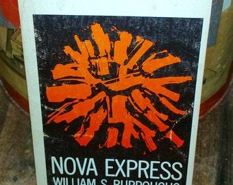 Nova Express by William S. Burroughs Vintage Paperback Book