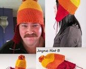Firefly Jayne Hat, Jayne Cobb Hat, Earflap Beanie