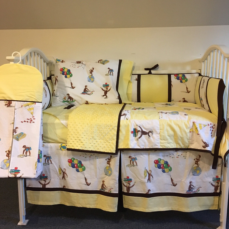 Pottery Barn Curious George Crib Bedding