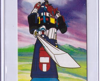 Very Rare 1982-83 Voltron & Armored Fleet Dairugger XV Japanese Card 32829